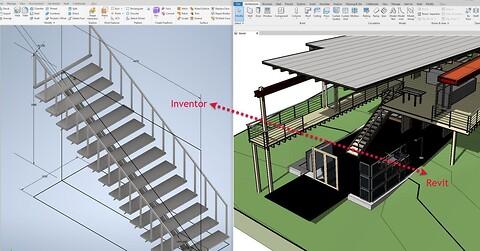 Webinar - Udveksling af modeller Revit <> Inventor - Udveksling af modeller Revit til Inventor og Inventor til Revit, - Tick Cad viser hvordan
