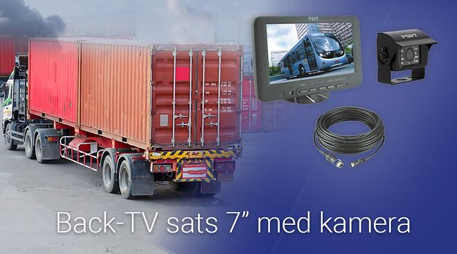 Back-TV sats med kamera
