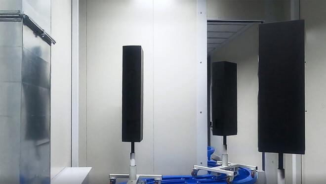 Nyt lakeringsanlæg installeret hos DALI - Junget