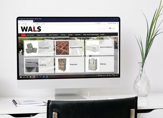 Wals.dk online byggemarked