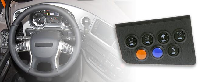 brett sortiment av strömbrytare till ditt fordon