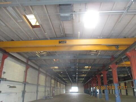 Brugte kranbaner HEB 280 sælges fra stålspecialisten