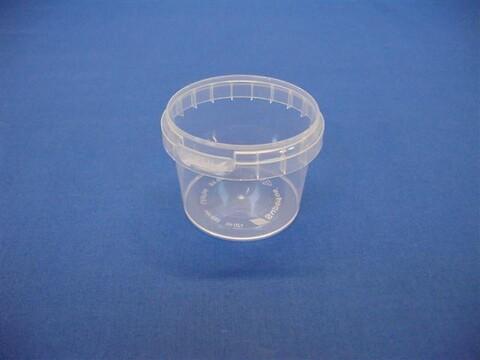 Plastbøtte 5101 -120 ml. - klar