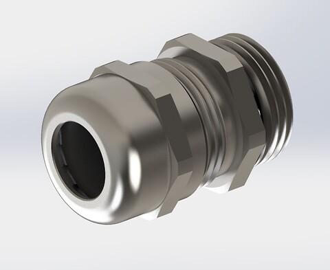 Rustfrie metalforskruninger fra SynFlex - Rustfri forskruning, rustfri stålforskruning, kabelforskruning, Ortac