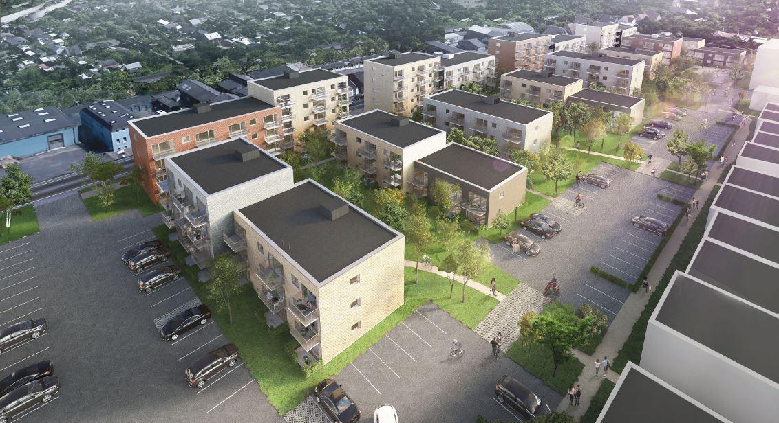 Leeasy Milliardæren Investerer I Ny Odense Bydel Building Supply Dk