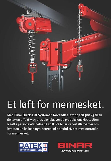 Binar Quick-Lift Systems AB