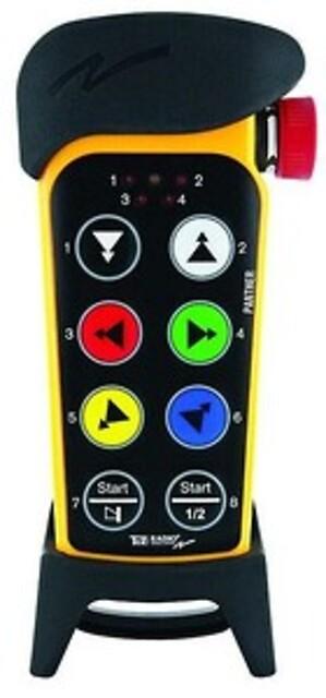 Panther radiostyring - Til mobile enheder, som isoleringsmaskiner, hydrauliske og elektriske spil
