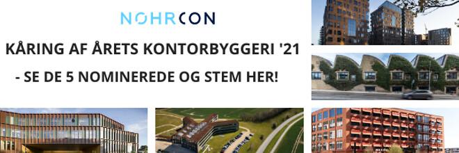 KÅRING AF ÅRETS KONTORBYGGERI 2021 - Nohrcon