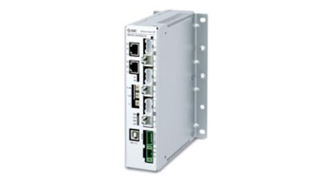 3-akset stepmotor controller med EtherNet/IP™ fra SMC