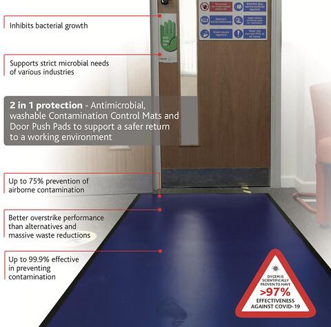 Antibakteriell golvbeläggning fungerar också mot Covid-19! - antibakteriel golv mot covid-19