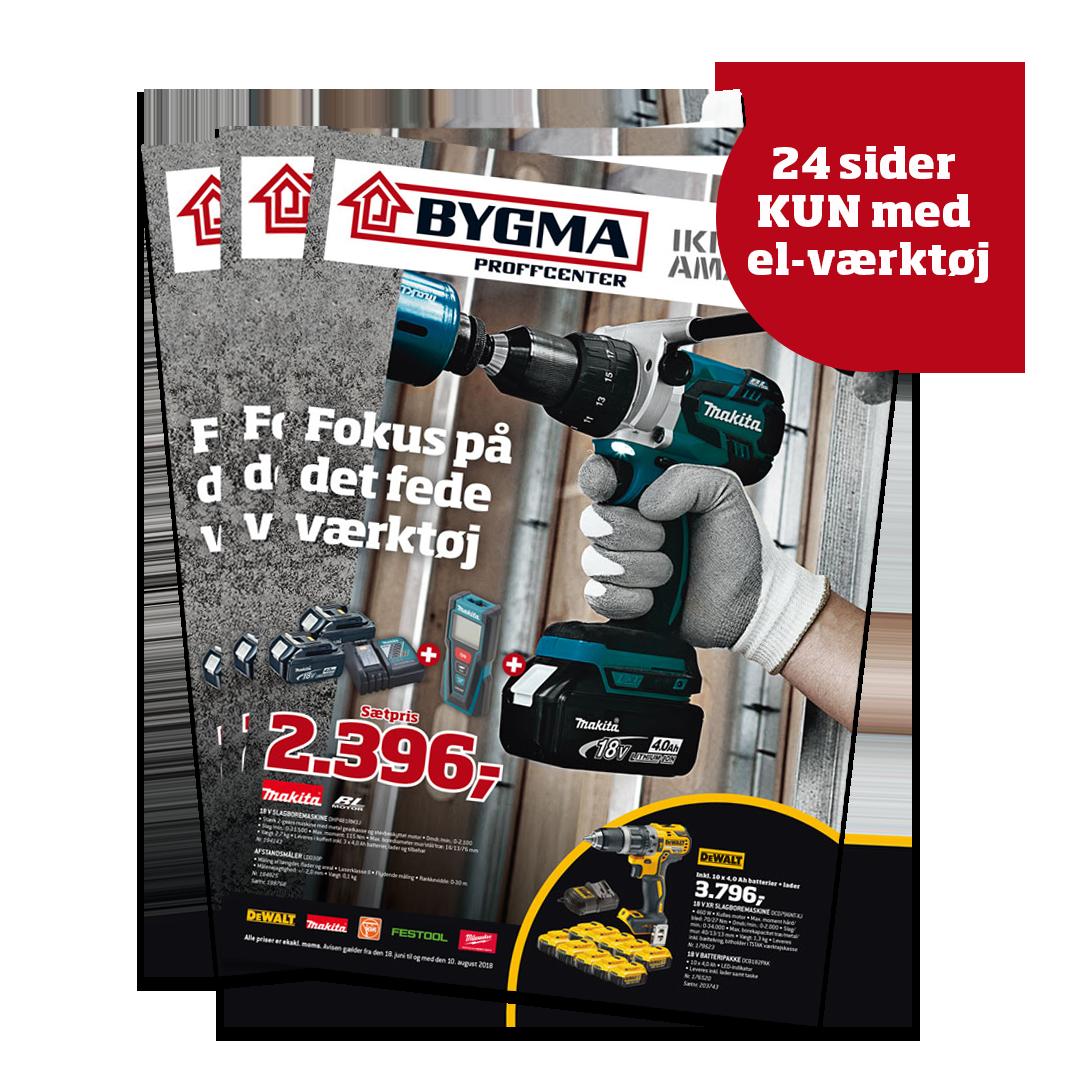 Stor el-værktøjsavis fra Bygma - Building Supply DK