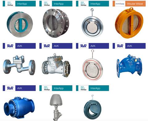 AVK Flow Controler leveringsdygtige i kontraventiler