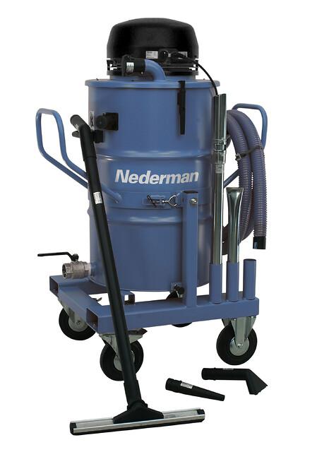 Nederman Bb515 - Elektrisk industristøvsuger fra Norclean AS