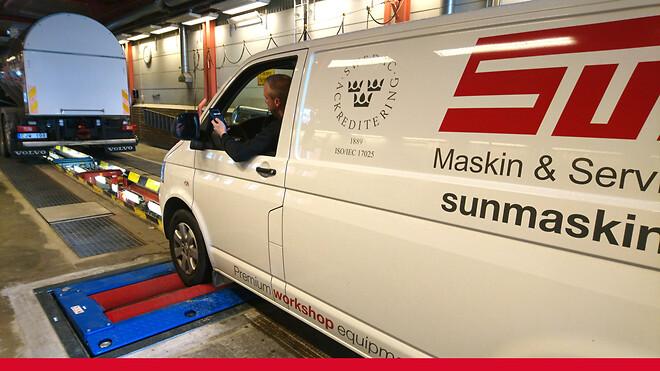 SUN Maskin & Service AB firar 15 år som ackrediterade