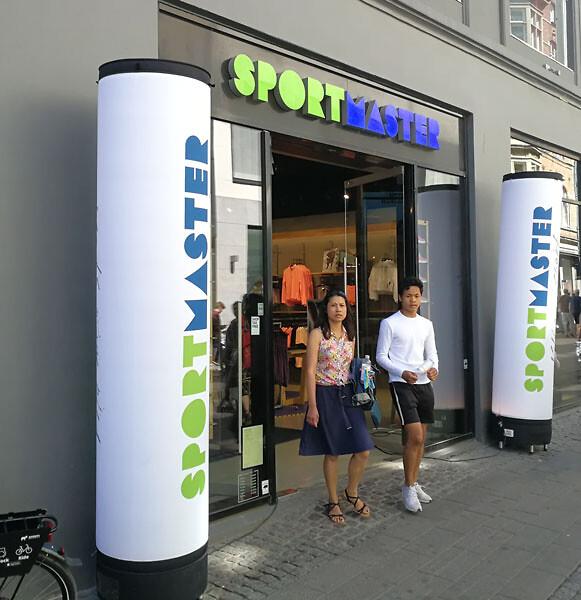 2422c63536d Sportmaster i Nykøbing har åbnet ny og moderniseret butik. Modelfoto: Marie  Eriksen