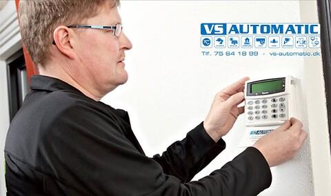 VS Automatic tilbyder sikring af din virksomhed