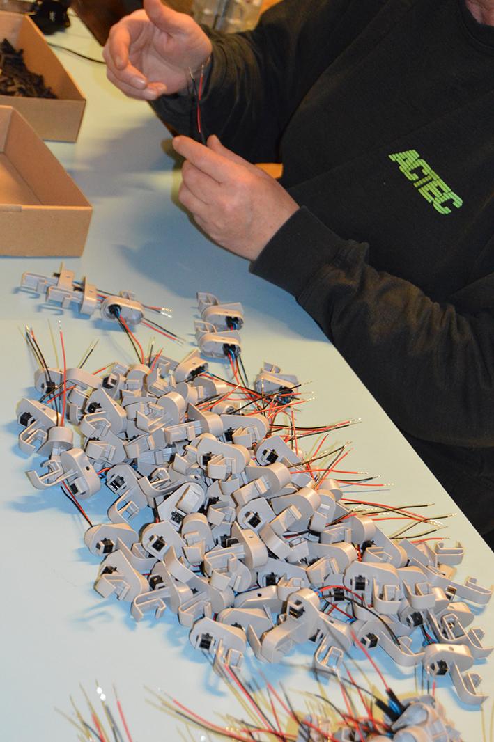 Produktion af kundespecifikke batteriløsninger
