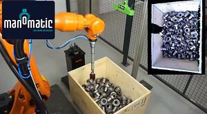 Nu kan industrirobotter få 3D-syn