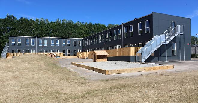 Børnehuset Rundageren i Høje-Taastrup Kommunes nye bydel Nærheden er Ajos første integrerede institution med Svanemærket.