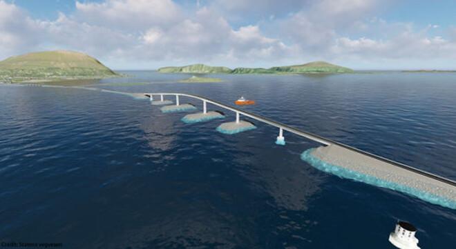 4.000 ton stål komposit-højbro til Norge