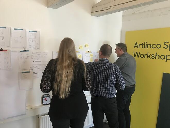 Design sprint, Artlinco, Digital transformation, Digital sprint