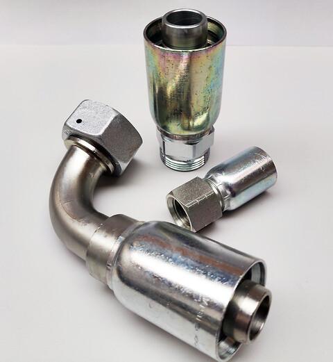 Serie 77 – Påpresnings fittings til hydraulikslanger fra Parker