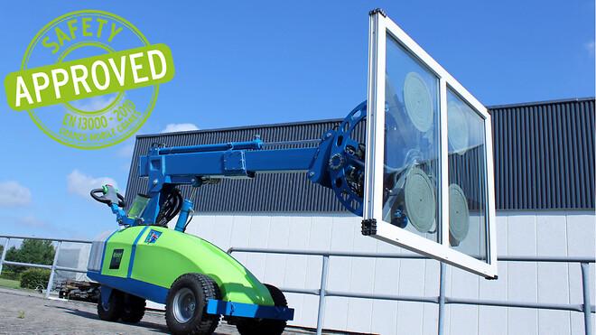 Winlet vinduesløfter sikkerhedsgodkendt