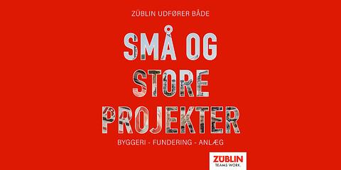 ZÜBLIN udfører både små og store projekter - ZÜBLIN udfører både små og store projekter
