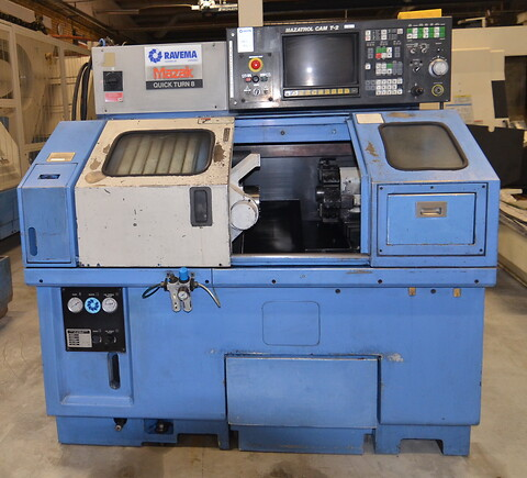Mazak Quick Turn 8 1988