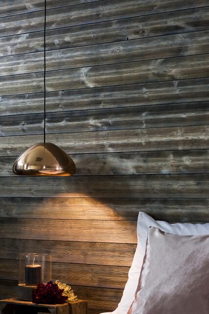 Moelven loft, væg og gulv