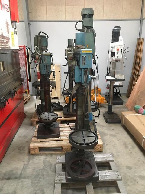 Mange nye og brugte søjleboremaskiner sælges