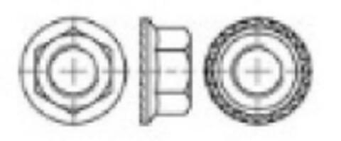 6kt flensemutter D6923 ez 6kt flensemutter D6923 ez fra Interkit