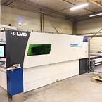 LVD Phoenix 3015 er laget for å håndtere plater i størrelsen 3000x1500mm.