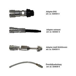 Adapters till SA25 oljepåfyllare för växellådor från SUN Maskin & Service AB