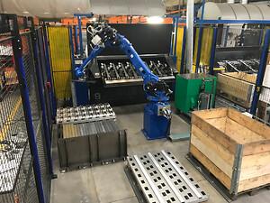 Leverandør af svejseautomatiseringsløsninger udvikler nyt industrielt håndteringsrobotkoncept