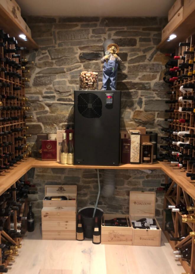 Bacco vinkøleanlæg