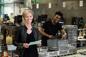 Linda Fransson, Gnosjö Automatsvarvning. Ambassadör Elmia Subcontractor 2019
