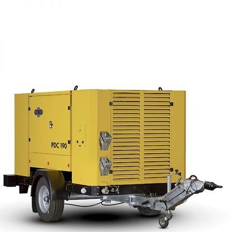 Atmos PDP 190 Portabel dieselkompressor fra Vestec