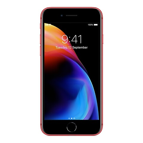 Apple iPhone 8 64GB (Rød) - Grade B - mobiltelefon