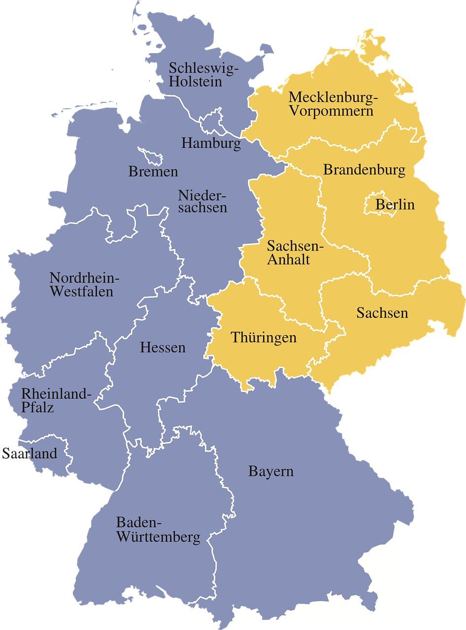 Ost Og Vest Tyskland Bexdyie