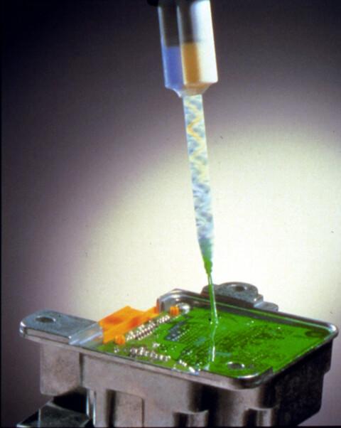 DOW Sylgard 517 gel med en gode dielektriske egenskaber til beskyttelse af sårbar elektronik