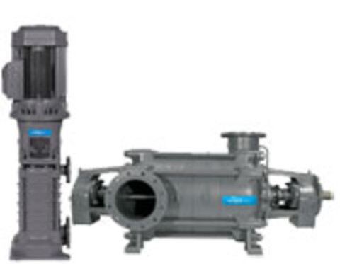 Flertrinnspumper, serie MP fra Xylem Water Solutions Norge AS