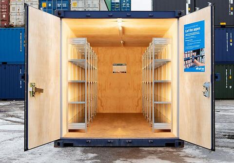 Containerløsning til byggepladsen - Containerløsning til byggepladsen