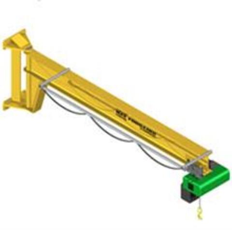 MF-svingkran med kapacitet på 2.000 kg