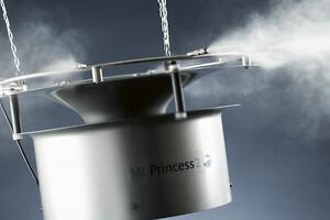 Energibesparende ny ventilator til Condairs ML Princess giver både støjreduceret befugtning og energibesparelser.