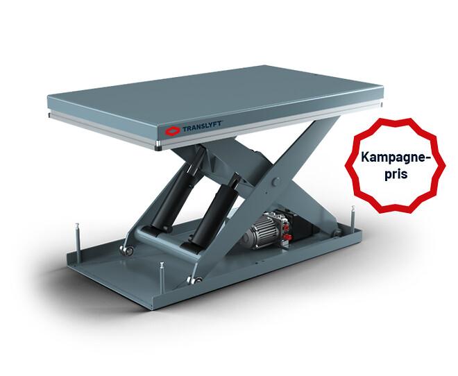 grå Silverline løftebord fra TRANSLYFT til kampagnepris