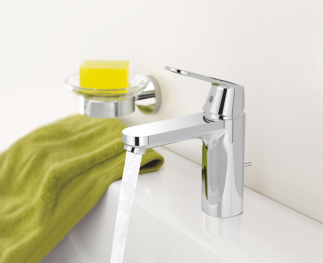 Mere komfort på dit badeværelse med et medium højt armatur ...