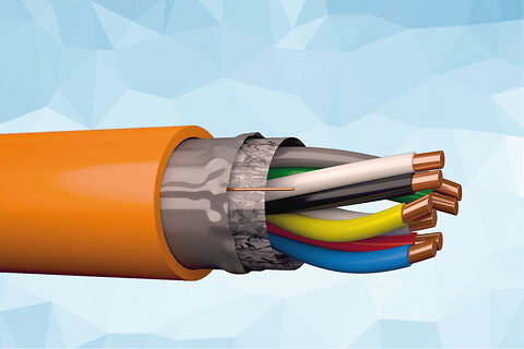 SIENOPYR JE-H(ST)H 225 V skærmet og brandsikkert signalkabel
