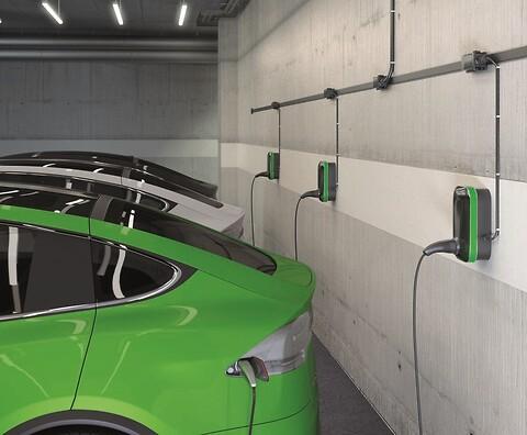 Wieland podis® - installationssystem för laddstationer
