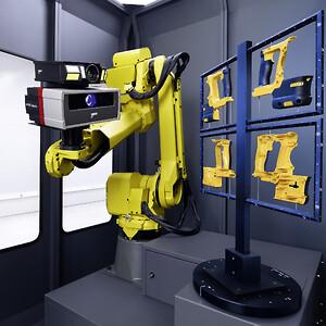 Automatiseret 3D scanning med ATOS ScanBox